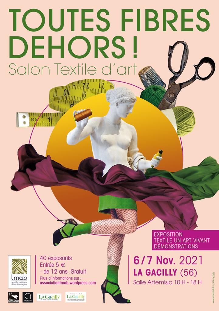 Toutes Fibres Dehors 2021 au Centre Culturel de la Gacilly le 6 et 7 novembre 2021